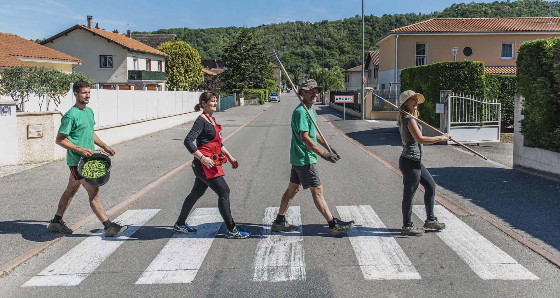 Abbey Road_Les jardins de la côte rôtie