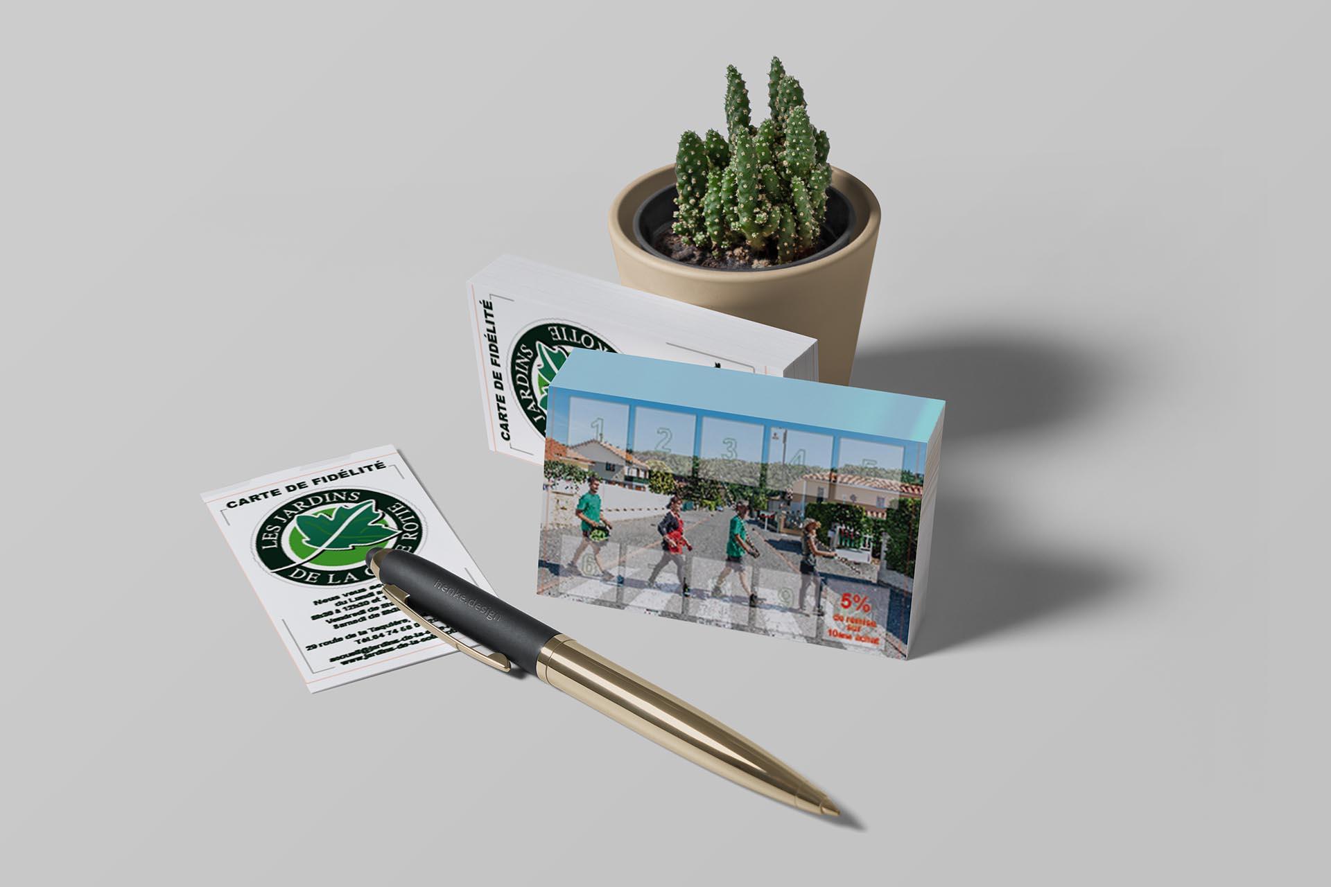 Jardins de la cote rotie Carte de fidelité-FBMediaworks-Creation-Cartes-de-Visite-Condrieu